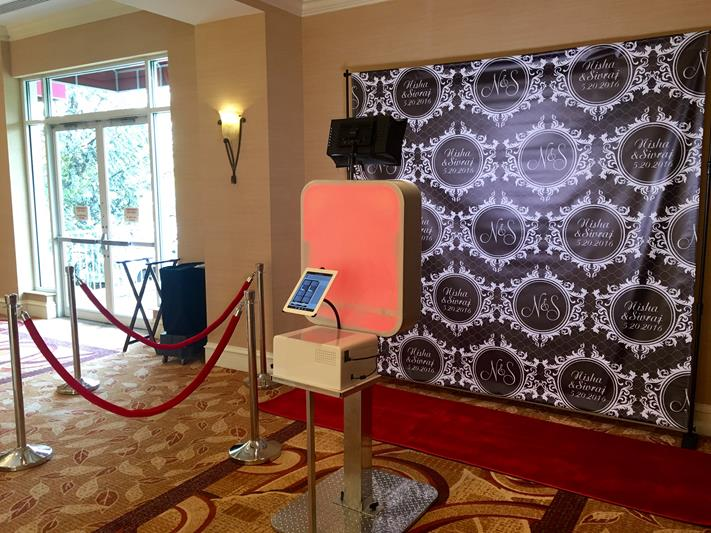 Red Carpet photo booth in New Jersey