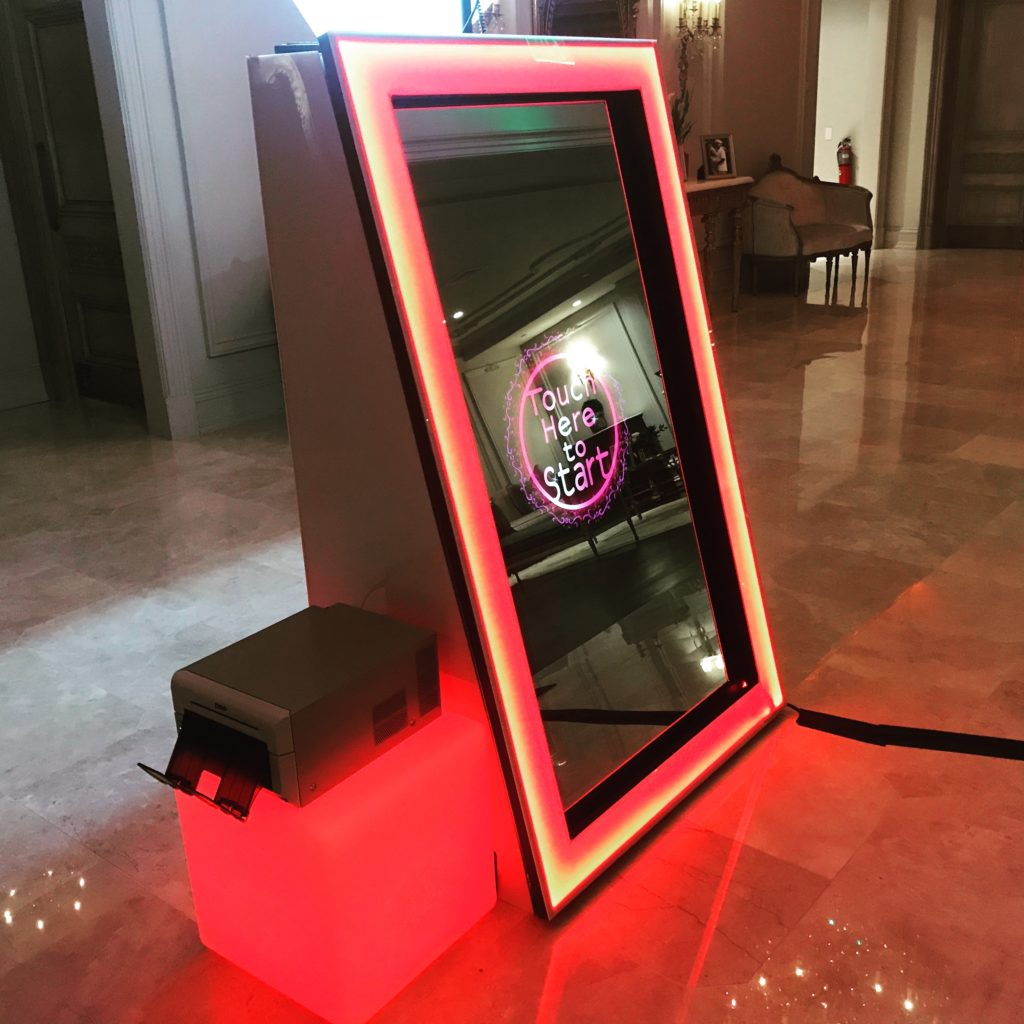 Magic Mirror Booth Rental Nj Central Jersey Photo Booths